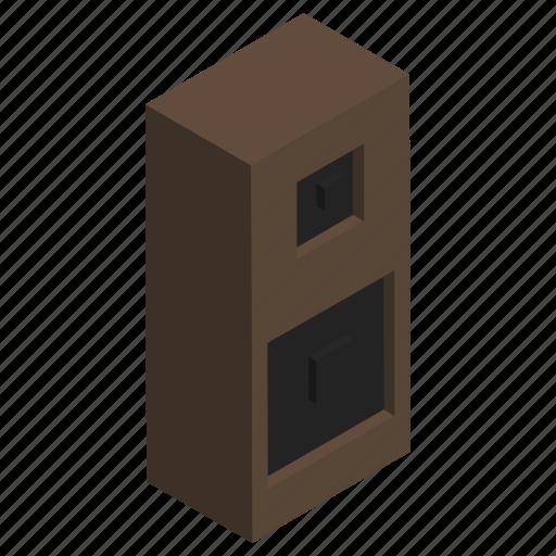 electronics, listen, sound, speaker, wooden icon