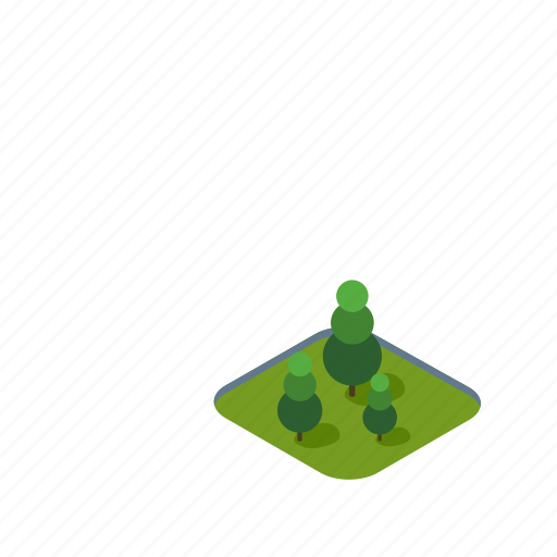 christmas, fir, isometric, nature, plant, spruce, tree icon