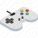 console, game, isometric icon