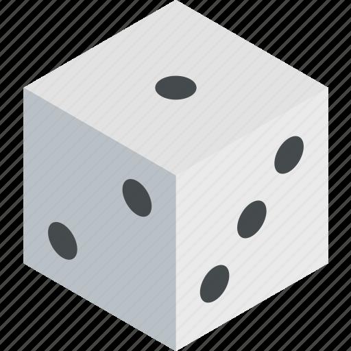 dice, game, isometric icon