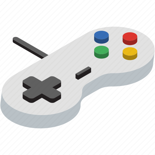 console, game, isometric, nintendo icon
