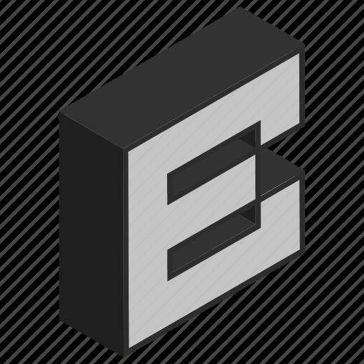 alphabet, b, character, sign icon