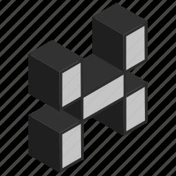 alphabet, letter, sign, x icon