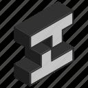 alphabet, letter, z icon