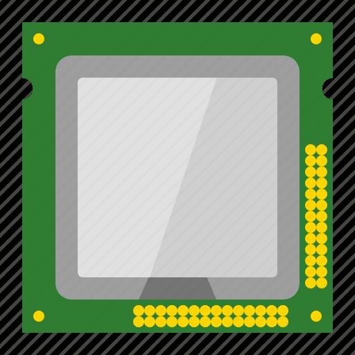 computer, cpu, cpu chip, cpu processor, microchip, microprocessor, processor icon