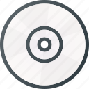 burn, cd, compact, data, disc, music, write icon