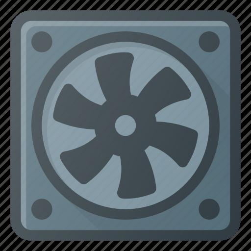 cooler, cpu, proceesor, ventilate icon