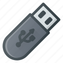 drive, flash, pendrive, usb icon