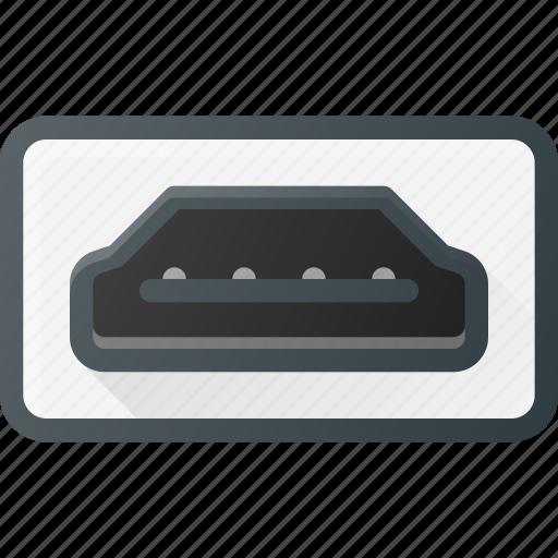 cable, display, hdmi, plug, port icon