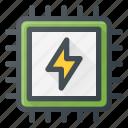 boost, chip, cpu, fast, microchip, processor, turbo icon