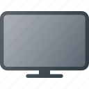 display, monitor, screen, television icon