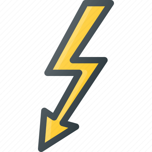 cable, plug, port, thunderbolt icon