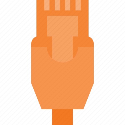 cable, ethernet, it, network, plug icon