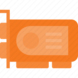 card, chip, graphic, video icon