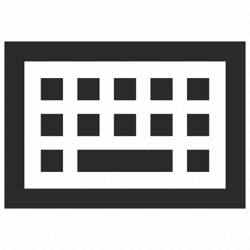 computer, input, keyboard, virtual icon