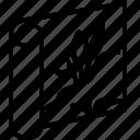 aquarium, background, paper icon