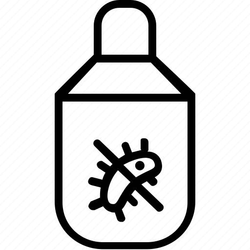 aquarium, care, chemical, disinfectant, pet icon