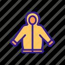 clothes, contour, fashion, jacket, silhouette