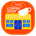 city, cityscape, coffee, coffee shop, indonesia, jakarta, landmark icon