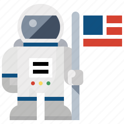 astronaut, launch, nasa, space man, space travel icon