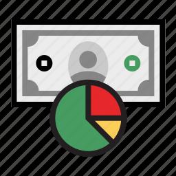 budget, cash, dollar, finances, money icon