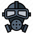 gas, mask, poison, toxic icon