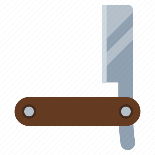 barber, beard, grooming, shave, shaving, straight razor icon