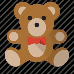 animal, childhood, teddy bear, toy icon