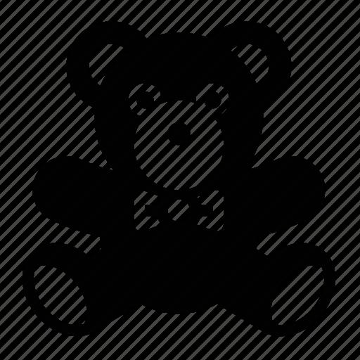 animal, childhood, stuffed animal, teddy bear, toy icon