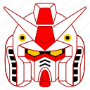 asia, asian, culture, gundam, japan, japanese, robot icon