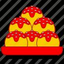 asia, asian, culture, japan, japanese, japanese food, takoyaki icon