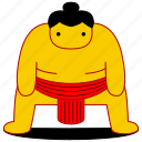 asia, asian, culture, japan, japanese, sport, sumo icon