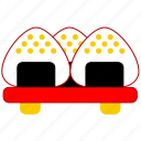 asia, asian, culture, food, japan, japanese, onigiri icon