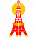 asia, asian, culture, japan, japanese, tokyo, tower icon