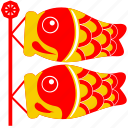 asia, asian, carp fish, culture, fish, japan, japanese
