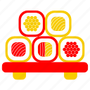 asia, asian, culture, japan, japanese, sushi, sushi roll