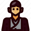 avatar, costume, japan, man, people, person, traditional icon