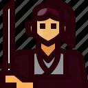 avatar, japan, person, ronin, samurai, sword, weapon icon