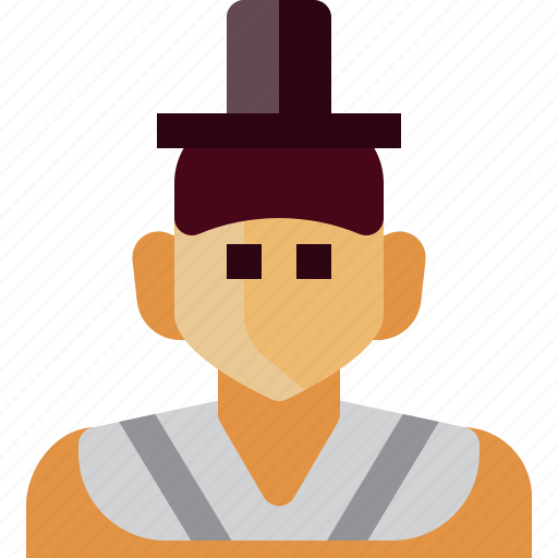 Avatar, costume, emperor, japan, man, person, traditional icon - Download on Iconfinder