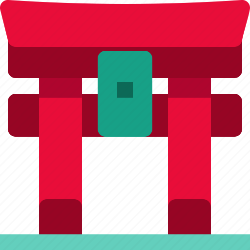 Architecture, building, gate, japan, landmark, monument, torii icon - Download on Iconfinder