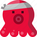 cartoon, character, cute, japan, octopus, squid icon