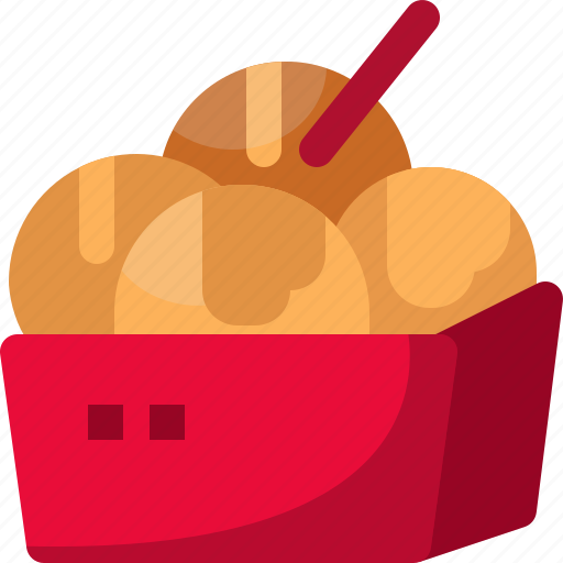 cooking, food, gastronomy, japan, meal, snack, takoyaki icon