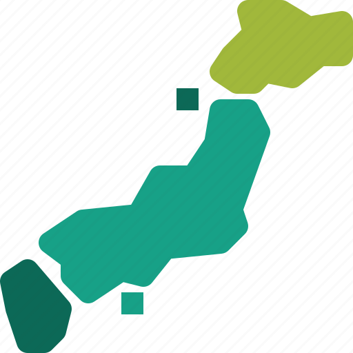 Border, country, japan, land, map, national, world icon - Download on Iconfinder