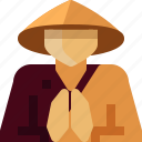 avatar, buddhism, japan, japanese, man, monk, person icon