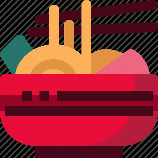 Food, japan, japanese, meal, noodles, ramen, restaurant icon - Download on Iconfinder