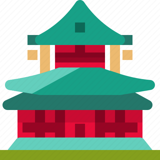 architecture, building, japan, landmark, monument, temple icon
