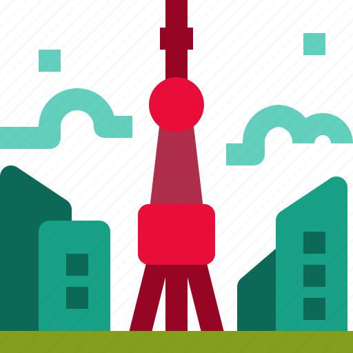 Architecture, building, japan, landmark, skyscraper, tokyo, tower icon - Download on Iconfinder