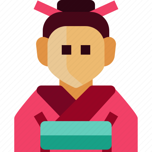 Avatar, girl, japan, people, person, traditonal, woman icon - Download on Iconfinder