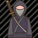 ninja, spy, assassin, gangster, battle