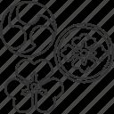 kamon, japanese, design, decoration, pattern